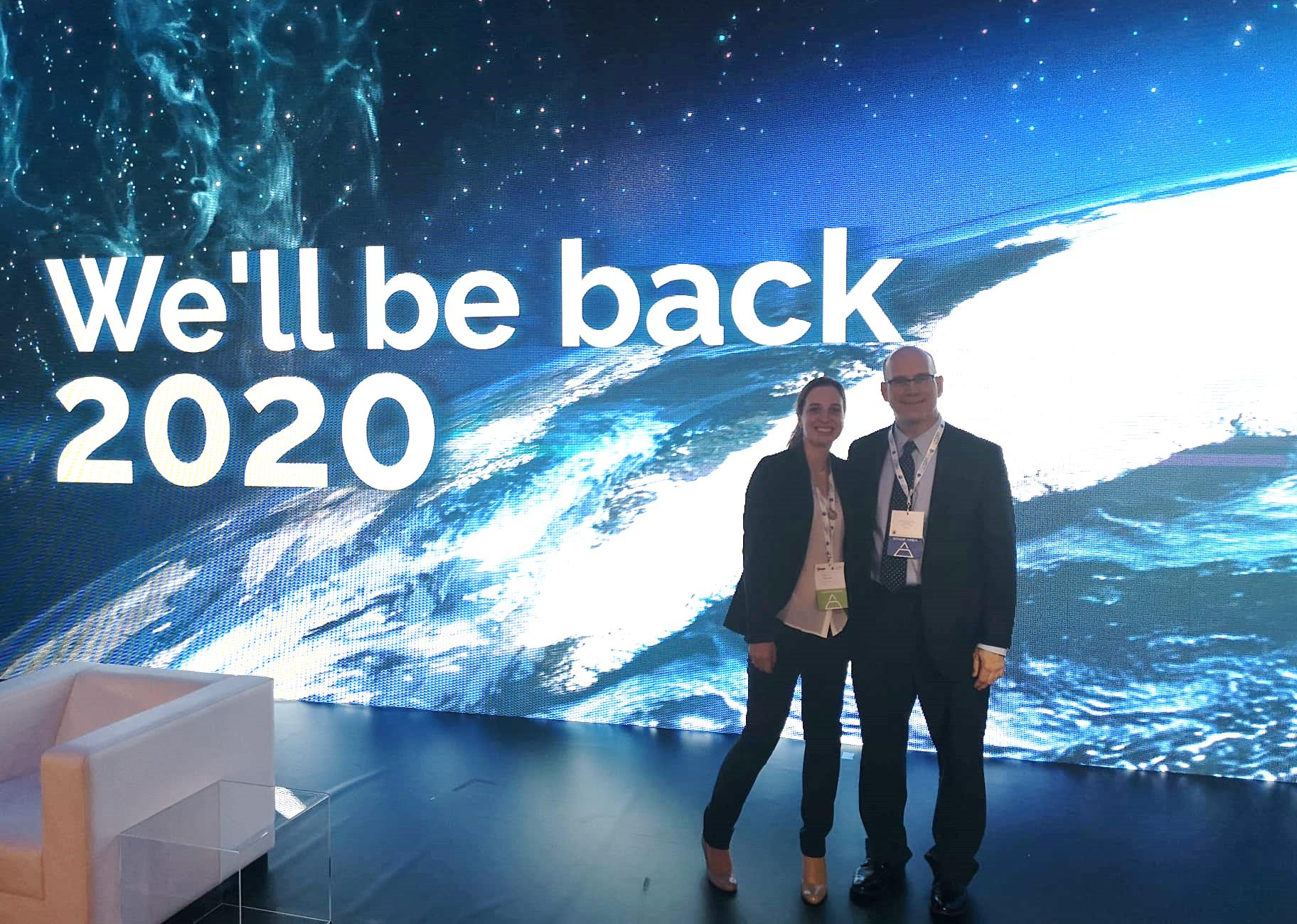 We'll be back 2020
