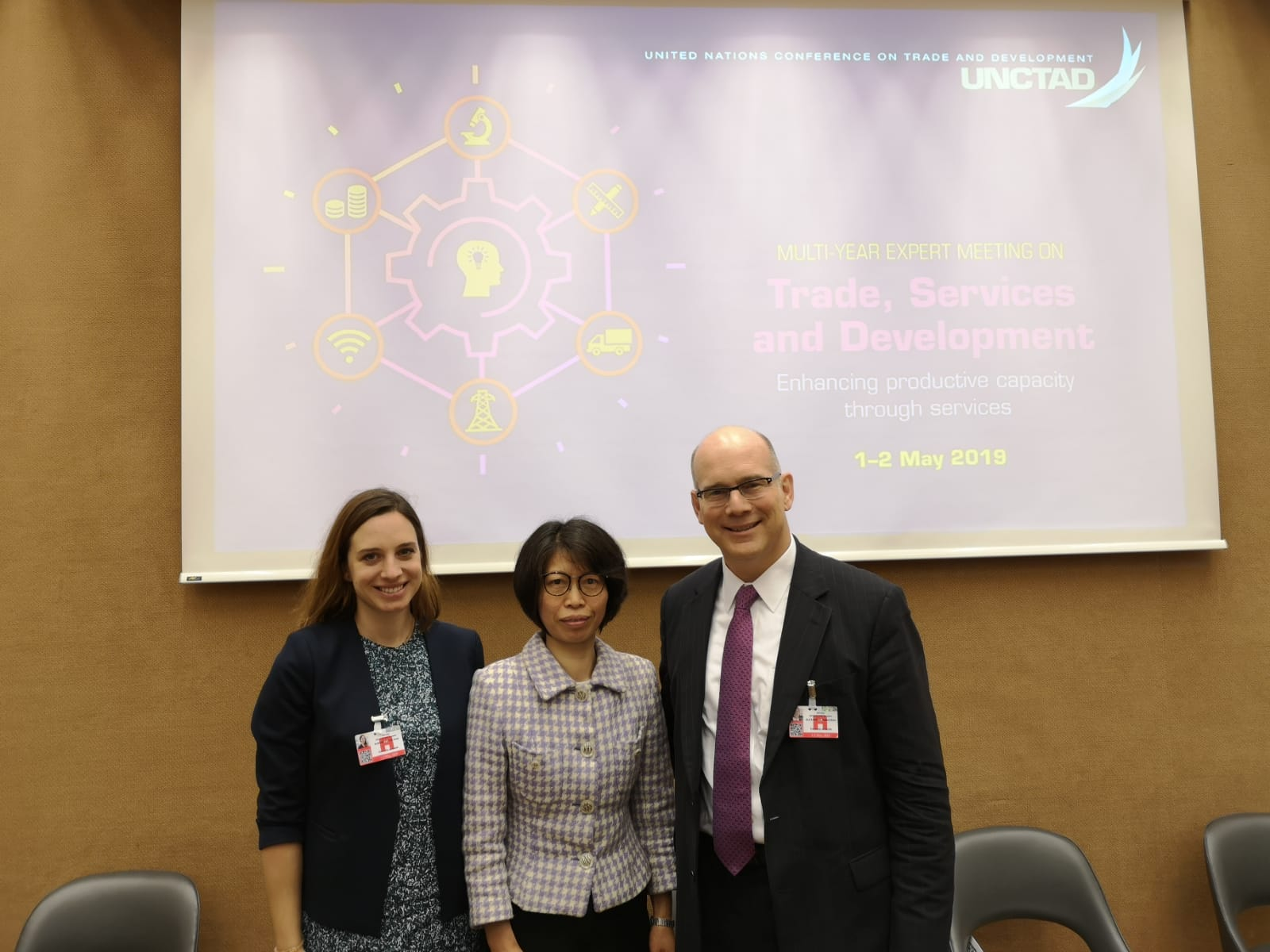 UNCTAD with Xenia